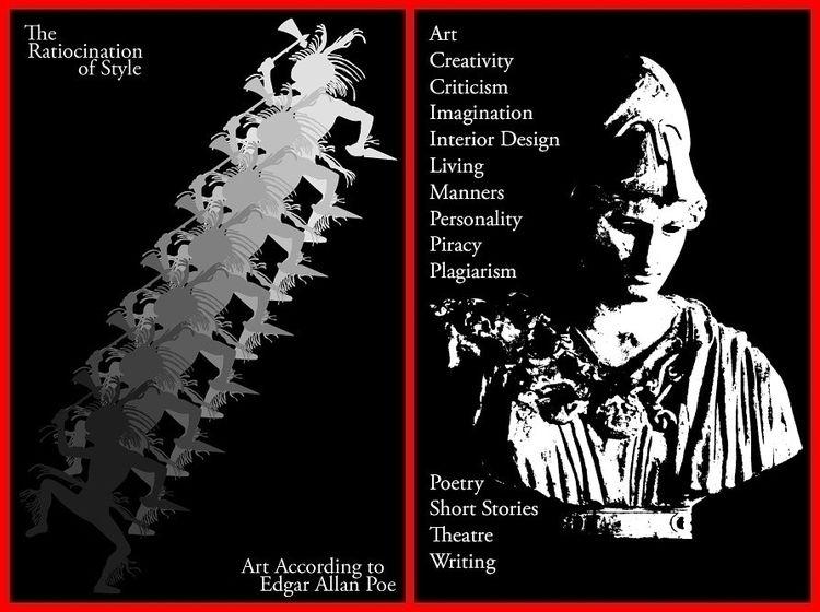 Cover designed Edgar Allan Poe  - jotasprout   ello
