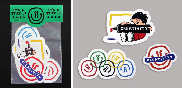 brand Vinyl Sticker Packs £3.50 - darrenjohn | ello