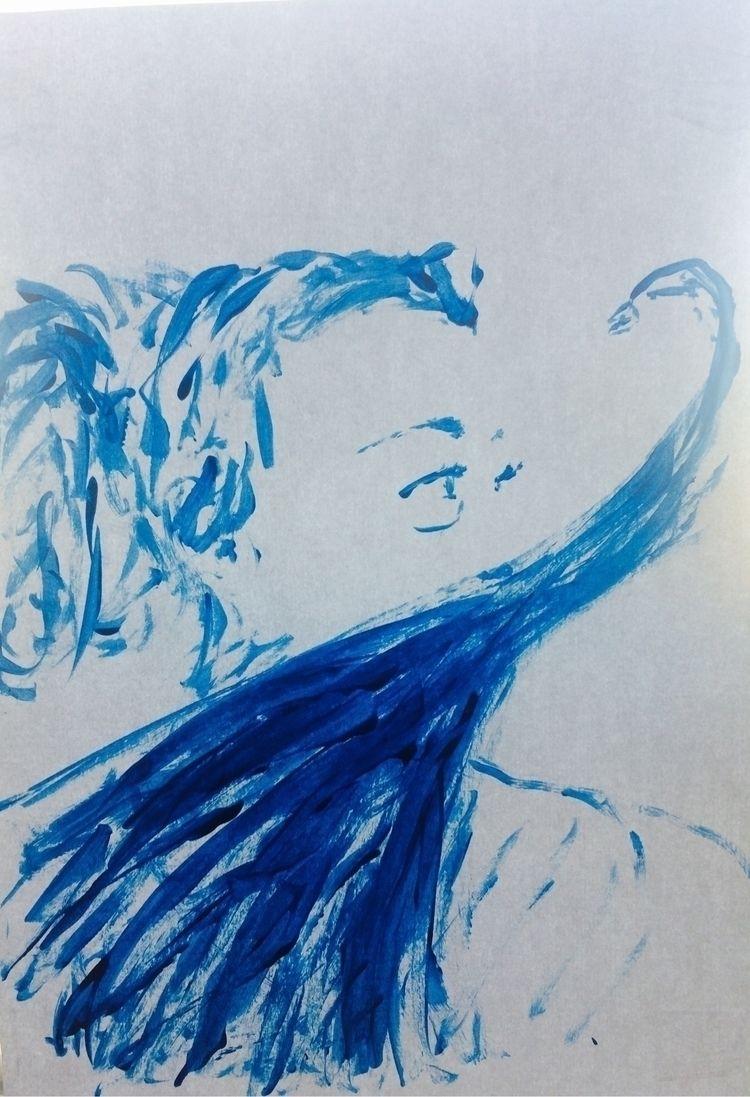 peu de couleur.... Portrait, ac - elisecopter | ello