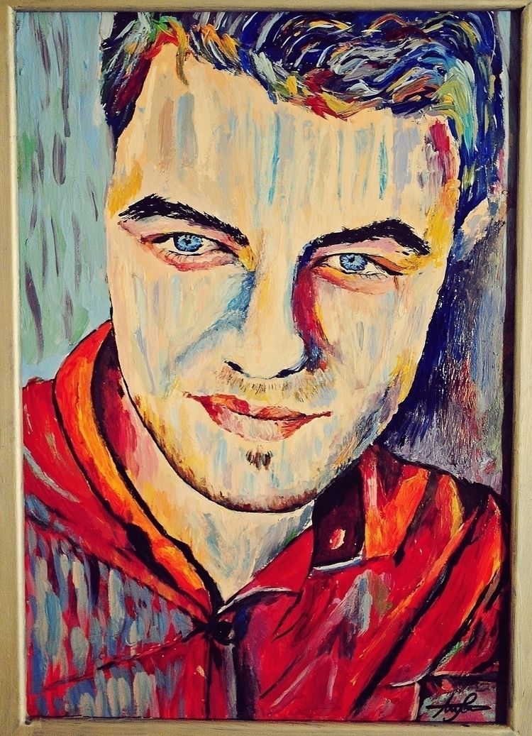 Colourful expressive painting  - esfir | ello