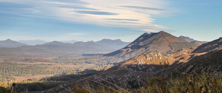 Denison Range, 2018 - Tasmania, photography - b_goat | ello