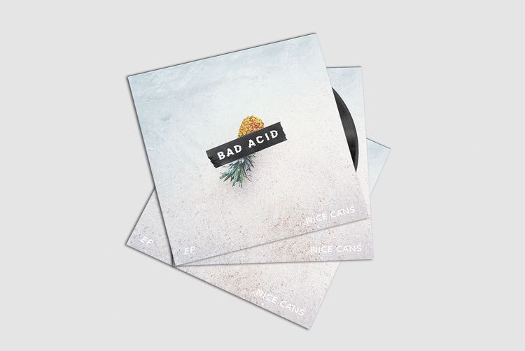 Album cover // BAD ACID Crédit  - joanna_sdwk | ello