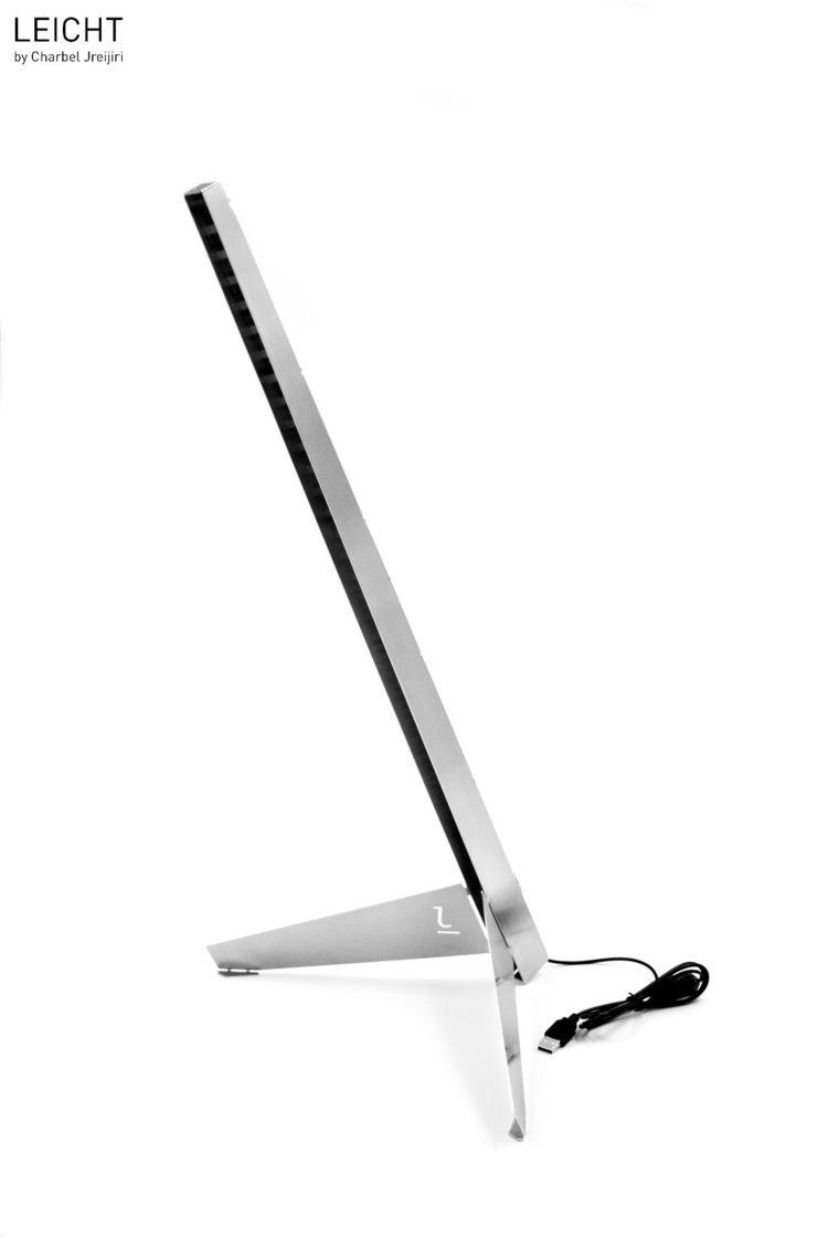 Leicht DIY, flatpack, desk lamp - charbel_jreijiri | ello