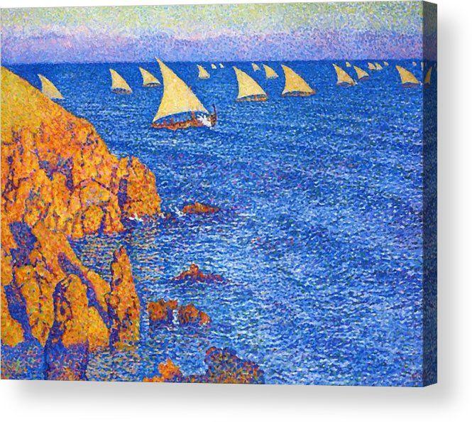 Regata 1892 Acrylic Print - pixbreak   ello