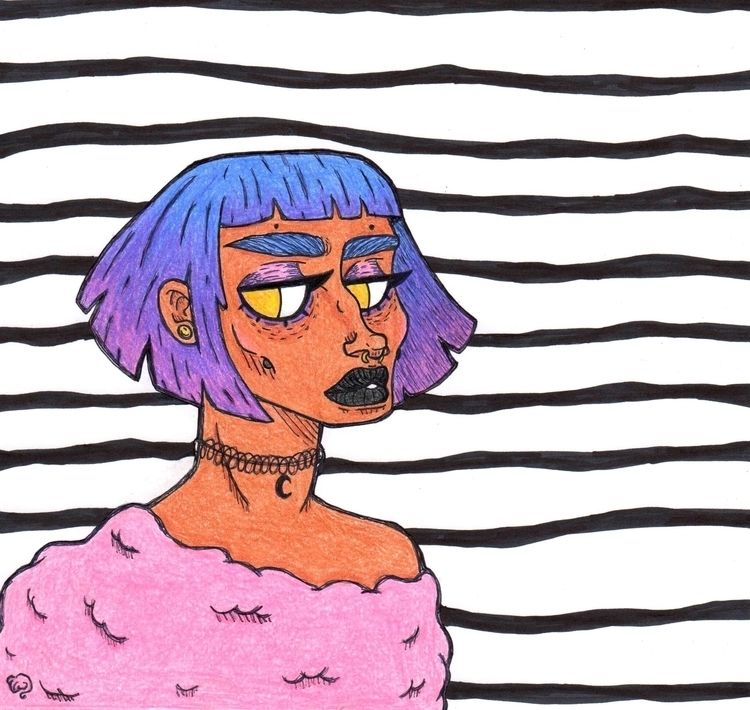 Bubblegum Black  - grunge, pastel - teadoorante | ello
