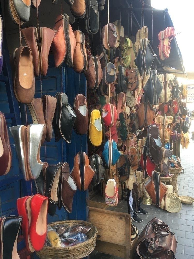 Footwear stall Medina walled ci - oceanromeo | ello