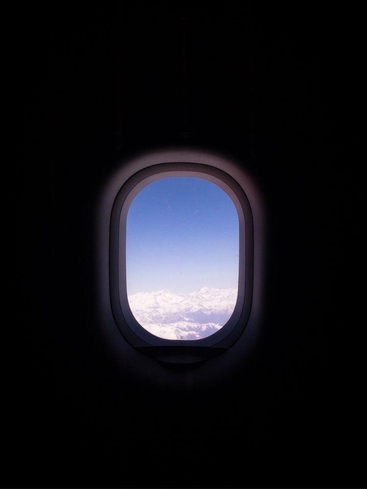 windowplane, window, mountains - oliviermorisse | ello