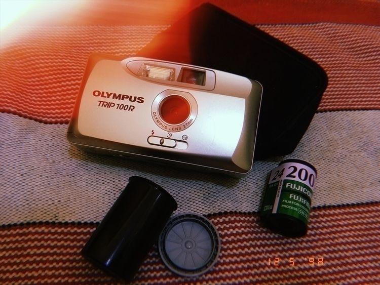 vintage, camera, filme, huji - sadgus | ello
