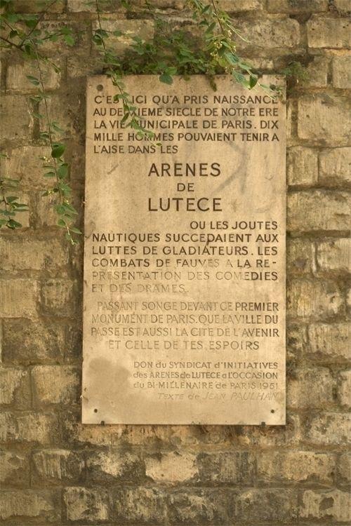 Roman amphitheatre, Paris - paris - simonvine | ello