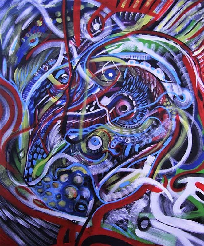 ROMAN GOBLIN - 120x100cms acryl - samuelsultana | ello