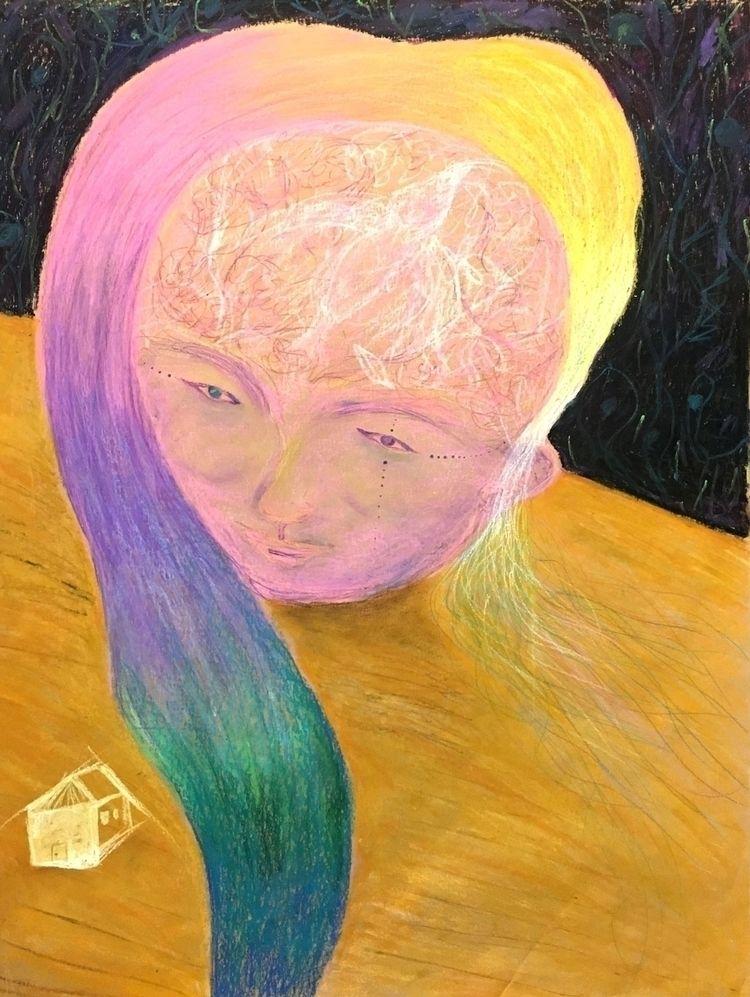 portrait - Head table crayon pa - ingerchen | ello