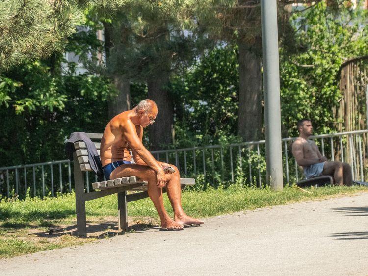 Tanned Ripped Tašmajdan Park, B - maynard | ello