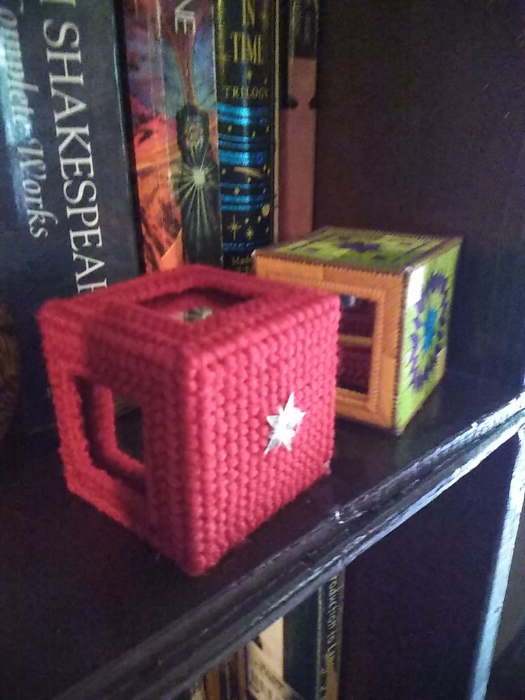 cube. red called Uncomfortable  - dragonragestudio | ello