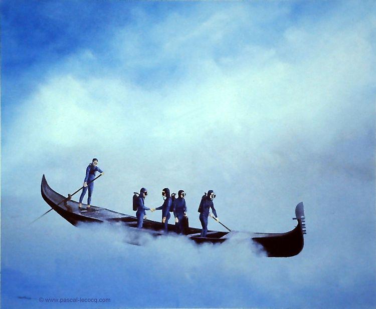ALTA - high tide oil canvas Pas - bluepainter | ello