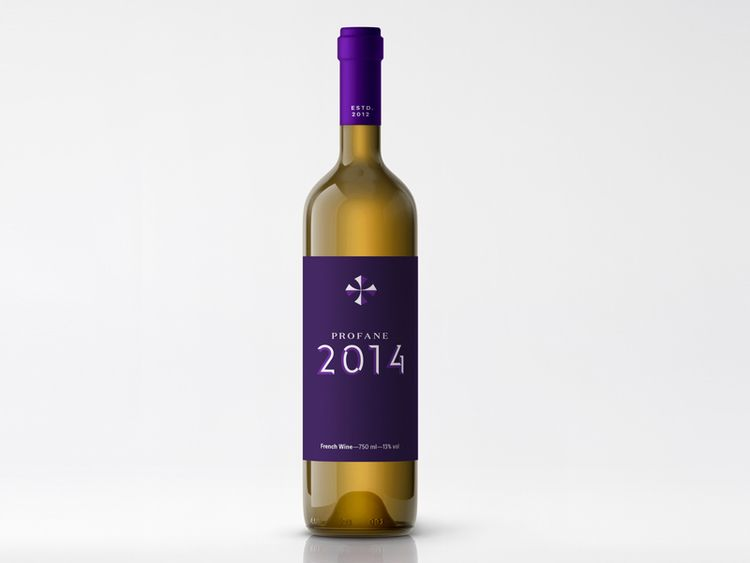 Profane wine, packaging design - marcosilfa | ello
