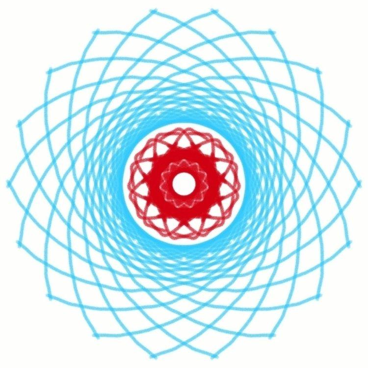 spinning distance 2018 - art, artdesign - dauntingr | ello