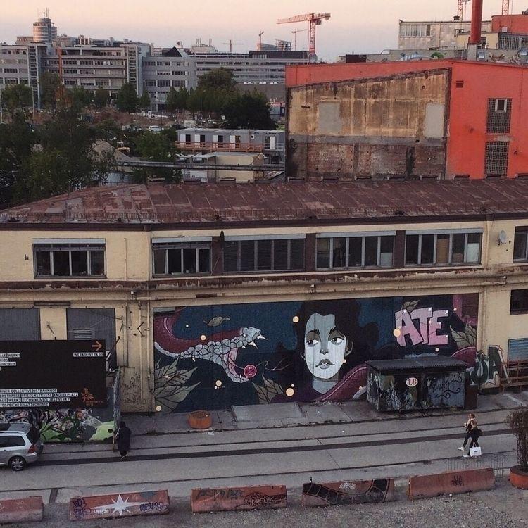painted wall munich stroke art  - esze_ate | ello