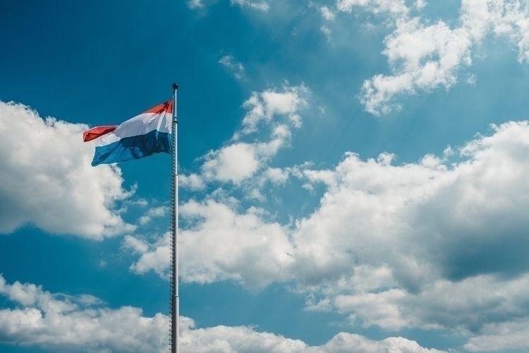 flag. pleasant sunny day Luxemb - fradityatama | ello