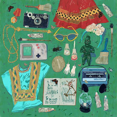 met Frida. oldstuff - frida, green - annabellaorosz | ello