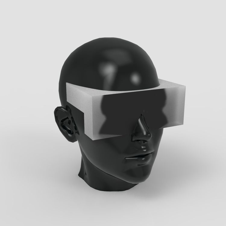 HMD study. VR Gravity Sketch. R - lucian | ello