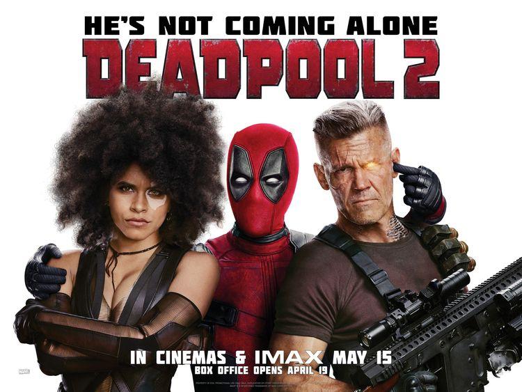 Deadpool 2 Review Bigger, occas - comicbuzz | ello