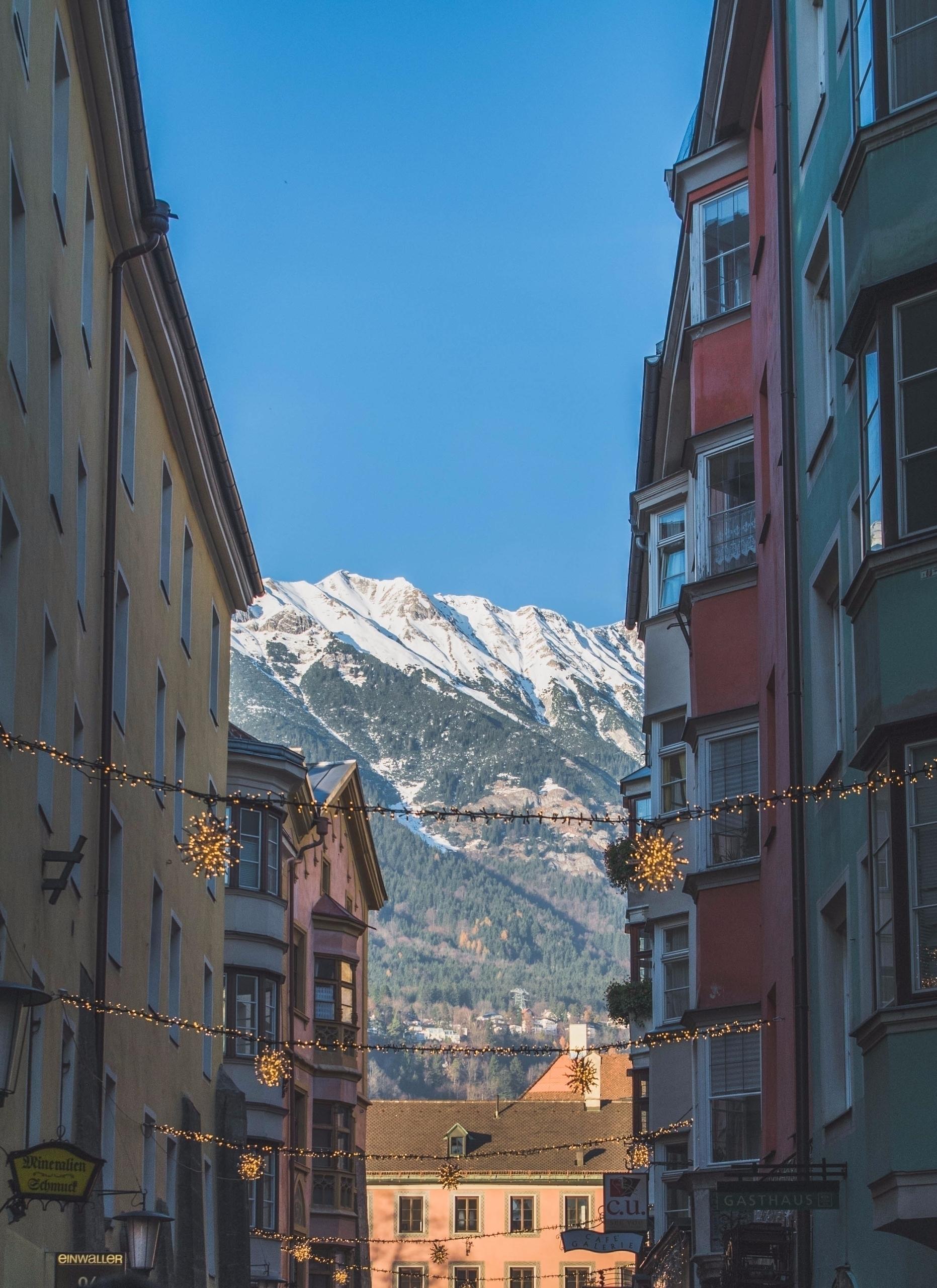 Alpes desde Insbruck Innsbruck - erjv   ello