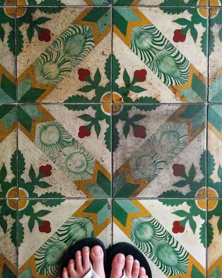 love tiles. feature painting - design - enelojial | ello