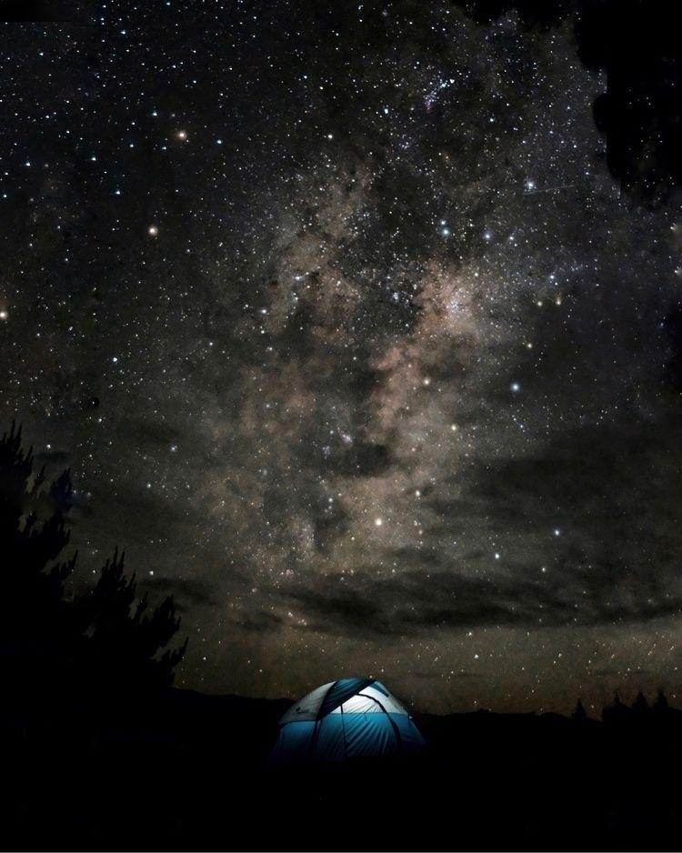 camping zealand nightsky - live - kaai | ello