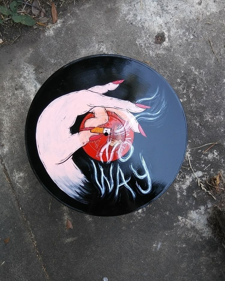 vinyl, handpainted, handpaintedvinyl - ultimomo | ello