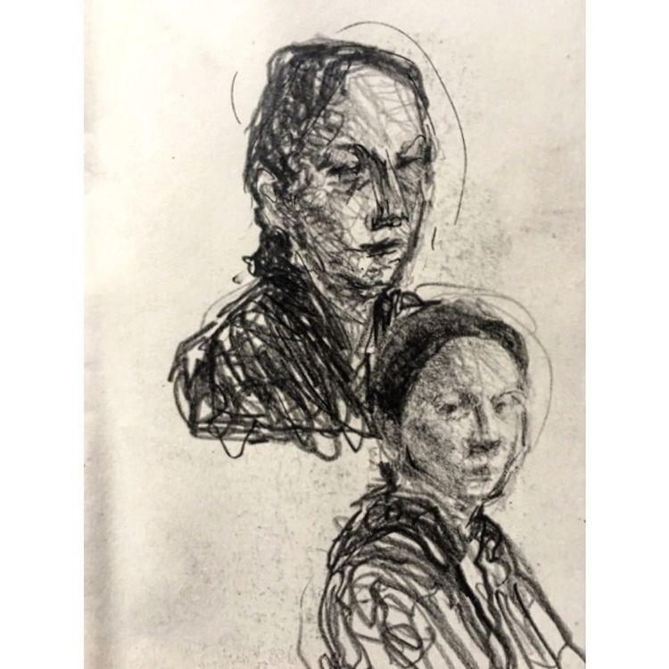 portraiture, portraits, art, sketch - yuliavirko | ello