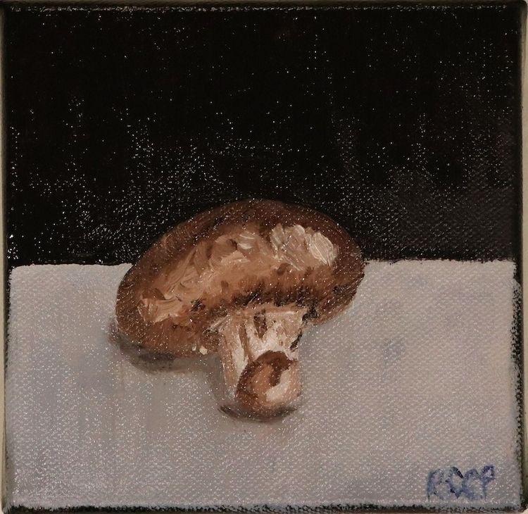 Life Mushroom Oil Canvas 5 1.25 - robinccpoole | ello