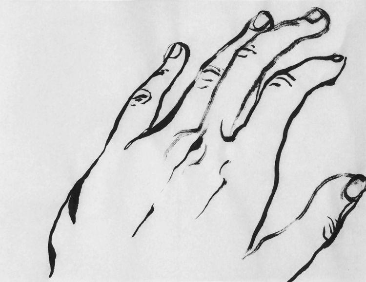 ink, hand, fingers - mlui   ello
