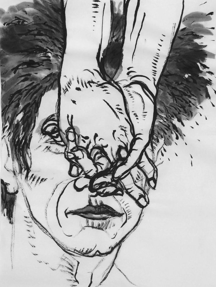 ink, clasping, hand, fingers - mlui | ello