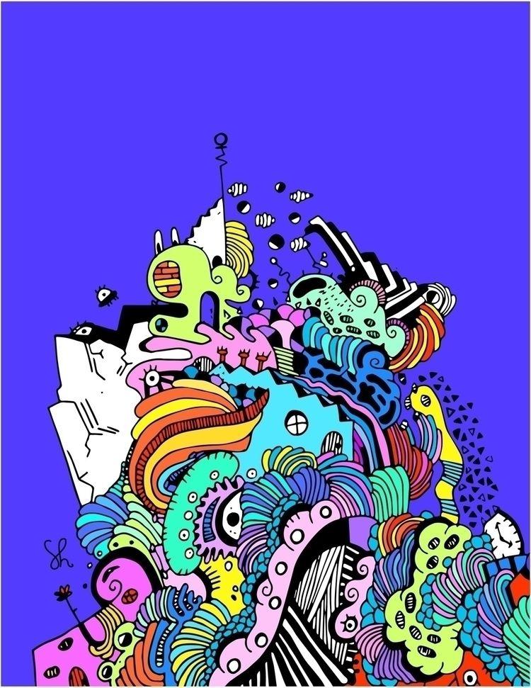 """Candy Glacier"" !! Graphic tees - shelbyworks   ello"