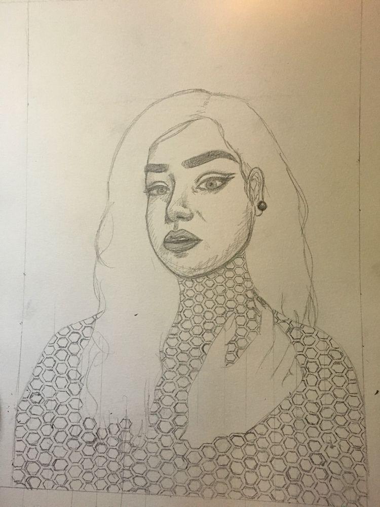 artwork inspired bond younger s - jesselynramirezart | ello