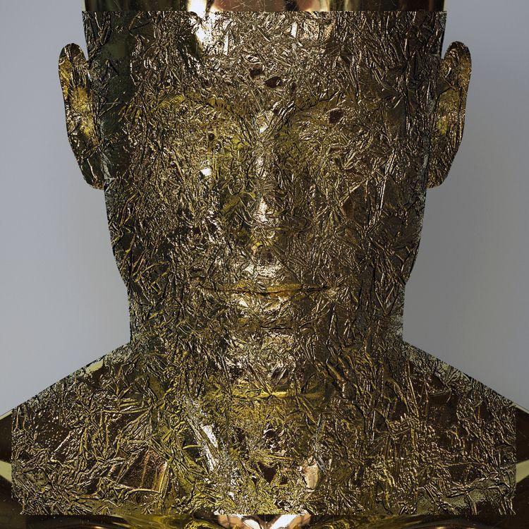 Wrapped - gold, 3D, digital, sculpture - z3rogravity | ello