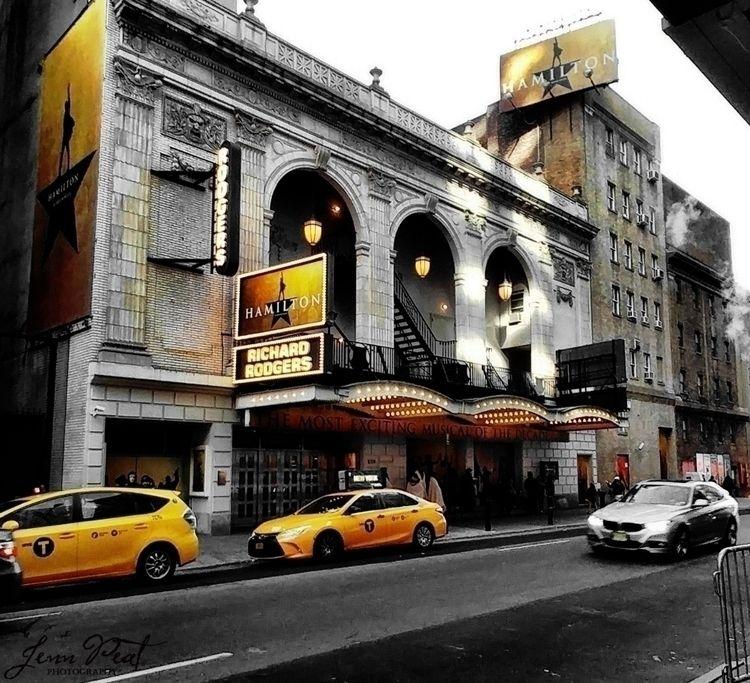 NYC, NewYorkCity, hamilton, theater - peatypabla | ello