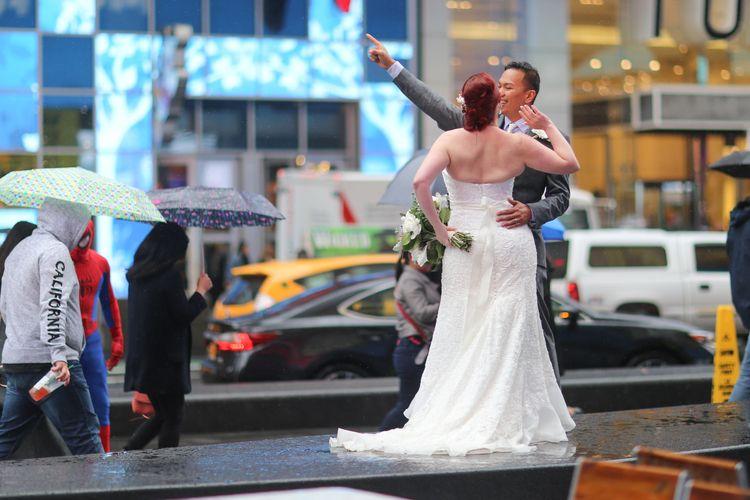 Newlyweds, Times Square Square - kevinrubin | ello