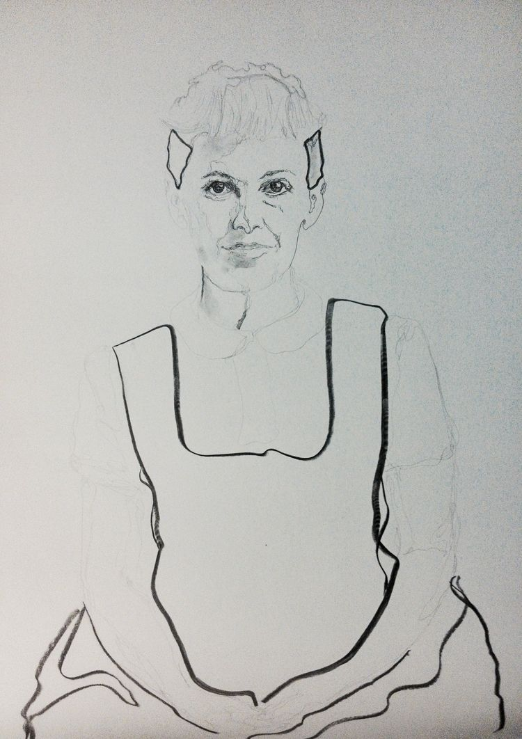 Ray Eames ///// ink paper - tra - guiart | ello