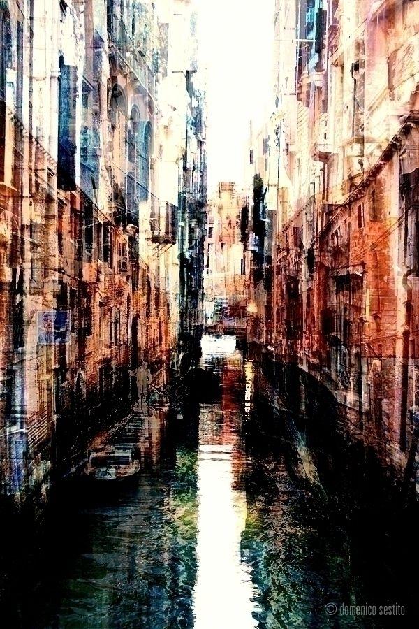 overlapping canals Venice - venice - domenicosestito | ello