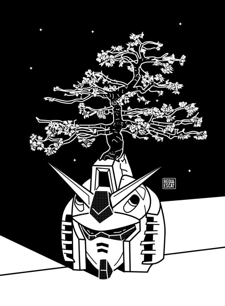 Sakura Trees - gundam - rqsct | ello