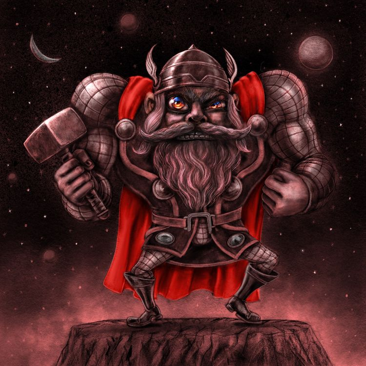 Thor - superhero - jaakkomehtala | ello