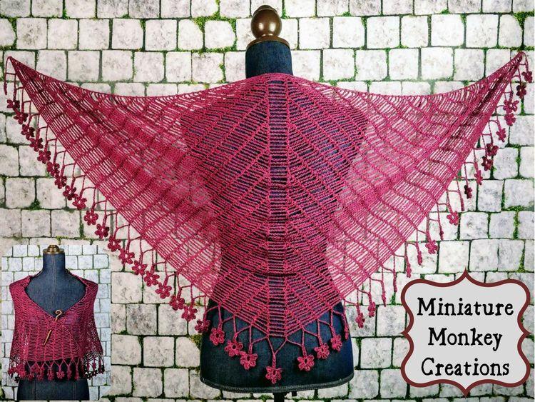 shawl designer Kristin Omdahl I - miniaturemonkeycreations | ello