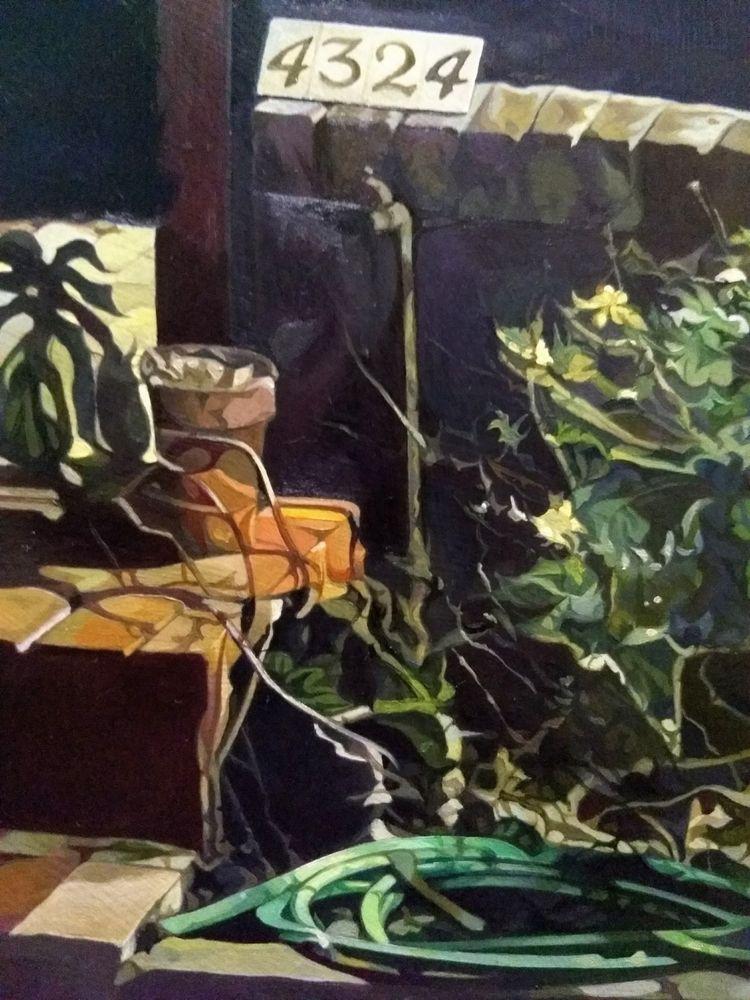 Progress viny dark nook - art, painting - enelojial   ello