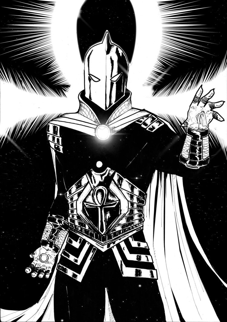 Dr Fate DC Comics fan art year  - ciscostudio | ello