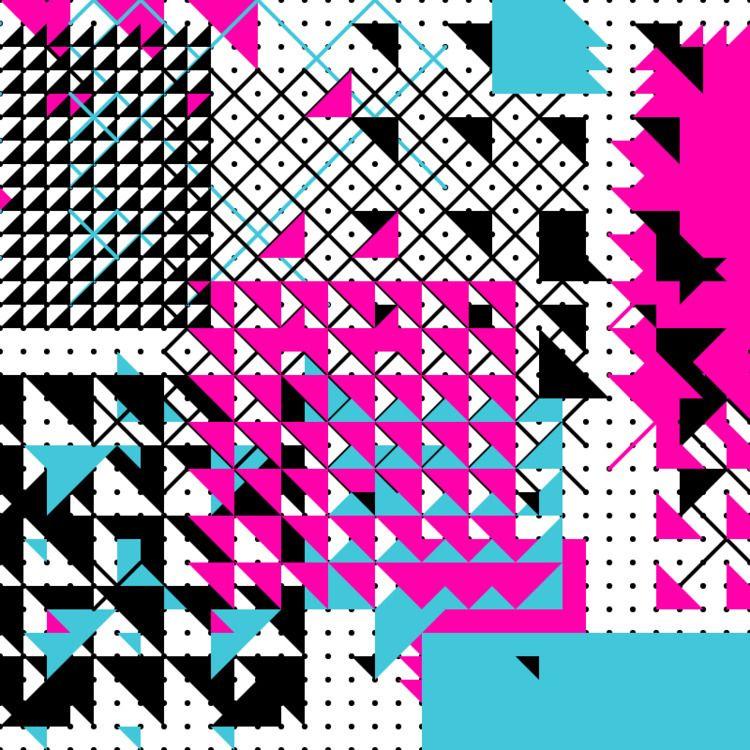 Geometric Shapes / 180524 - processing - sasj | ello