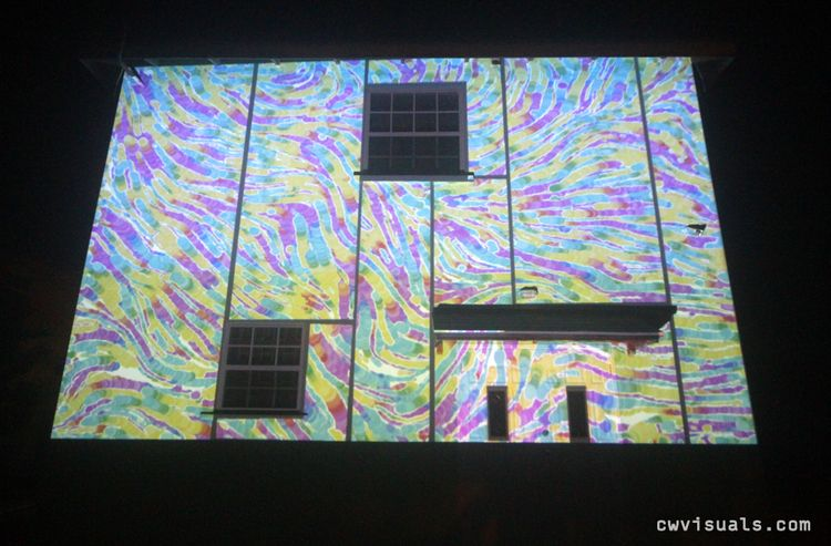 Solo mapping session - projectionmapping - chriswelch_72 | ello