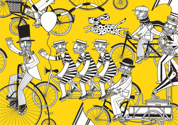 cool illustrations Barcelona ba - nettculture   ello
