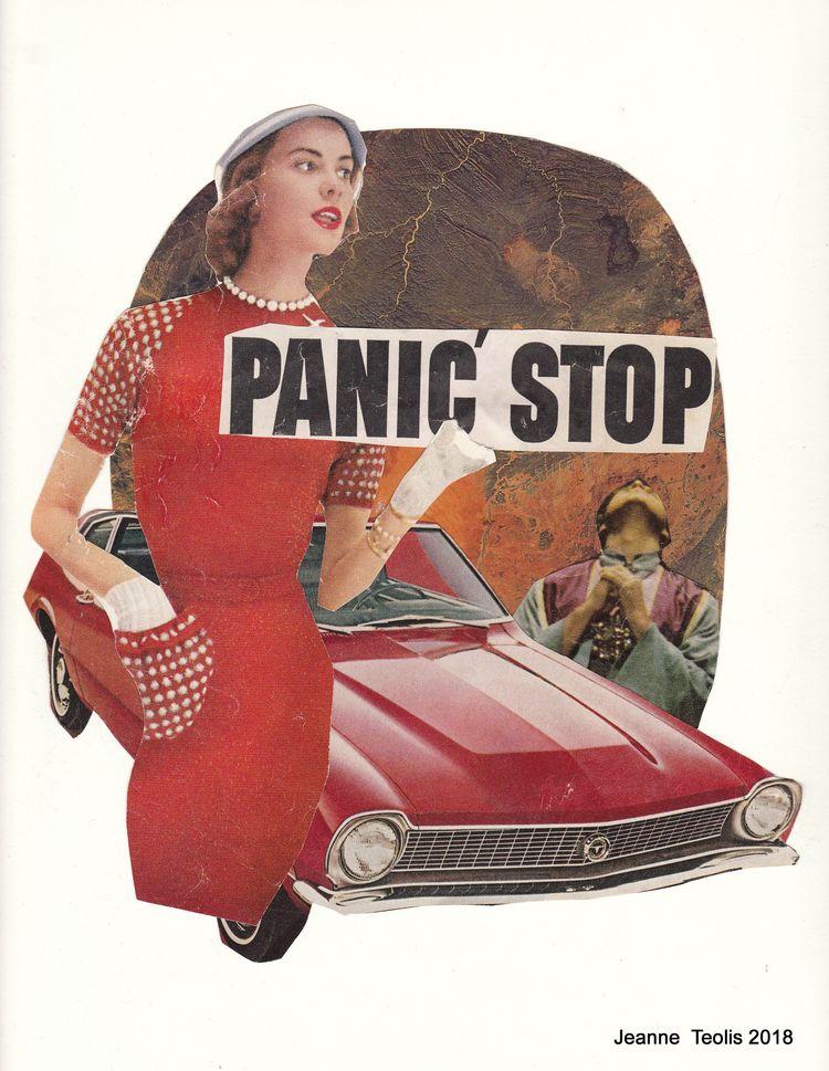Panic JeanneTeolis artist colla - jeanneteolis | ello