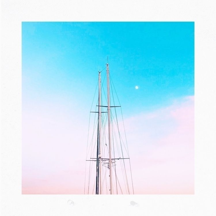 land  - sea, sailingboat, harbour - yogiwod | ello